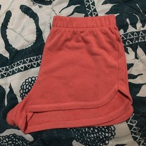 High Waisted Shorts (Pink)